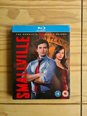 £14.99 • Buy Smallville - The Complete Eighth Season - Blu-ray - 2009 - FREE UK DELIVERY