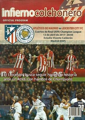 £3.99 • Buy Atletico Madrid V Leicester City 2016 - 2017  Champions League