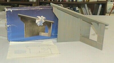 £3.53 • Buy Avon Nativity Stable The Manger With Box 1985