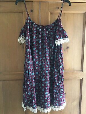 £2 • Buy Hearts And Bows Dress Size 8