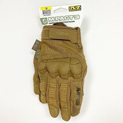 $35.99 • Buy Mechanix Wear M-PACT 3 Tactical GLOVES Coyote MP3-72-008 Size SMALL Mens 8