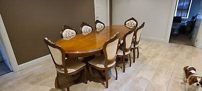 AU1100 • Buy Dining Table. 6 - 8 Seater. Adjustable