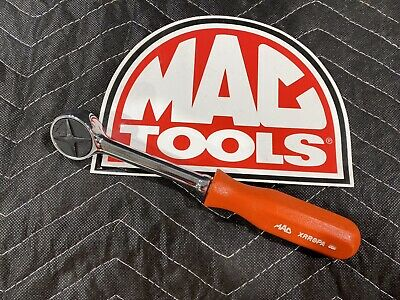 $69.99 • Buy Mac Tools XRR8PA 3/8  Drive Red Hard Handle Round Head Fine Tooth Ratchet - New!