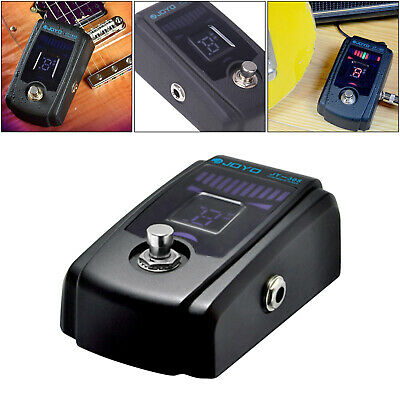 $ CDN49.53 • Buy Alloy Guitar Tuner Pedal Pitch Calibration Flat Tuning True Bypass JT-305