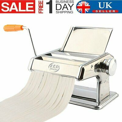 £19.59 • Buy Stainless Steel Pasta Lasagne Spaghetti Noodle Maker Machine Kitchen Tool