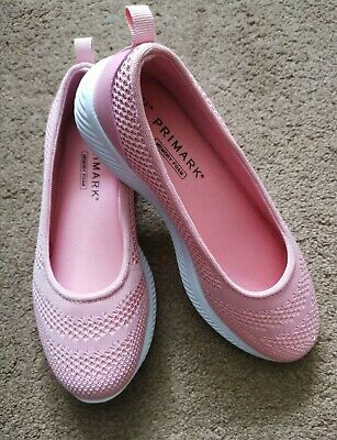 £2.60 • Buy Pink Slip On Trainers Uk Size 4/ Never Worn Brand New