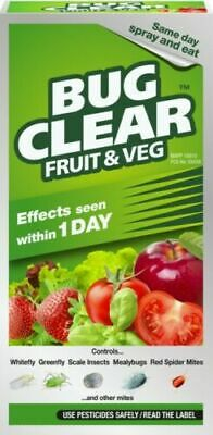 £11.50 • Buy Bug Clear For Fruit Veg Concentrate Pesticide Bug Killer Aphid Greenfly 250ml