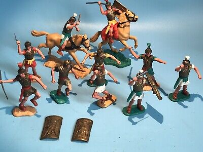 £26 • Buy Timpo Toys Original Roman Centurion Mounted & Foot Soldier Lot Some Good Rare