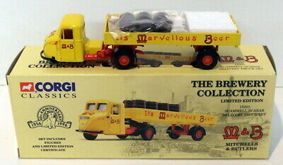 £19.99 • Buy Corgi 1/50 Scale 15201 - Scammell Scarab Delivery Truck - Mitchells & Butlers