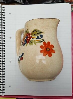 £8.50 • Buy Bovey Pottery Jug From 1930s Great Condition