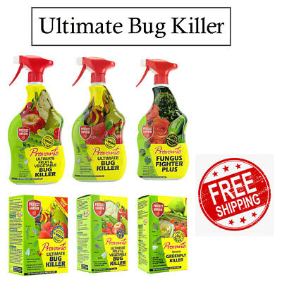 £11.21 • Buy Provanto Ultimate Bug Killer, Fungus Fighter Ready To Use & Concentrate 1L, 30ml