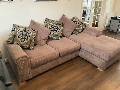 £200 • Buy Left Hand Facing Arm Open End Deluxe Corner Sofa Bed Bought From DFS
