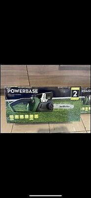 £130 • Buy Powerbase Chainsaw 35cm 40V Cordless / 2 Batteries / Double Battery Charger/ NEW