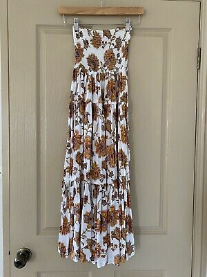 AU80 • Buy Beautiful Tigerlily Floral Paisley Maxi Skirt Size 8