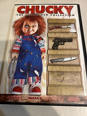 £7.79 • Buy Chucky The Killer DVD Collection Horror Childs Play 4 Movies 2006