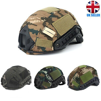 £7.39 • Buy Tactical Military Army Airsoft Paintball Gear Fast Helmet Cover Combat Hunting