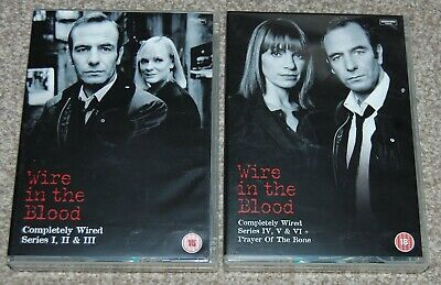 £8.99 • Buy Wire In The Blood - Complete Series - Robson Green - 14 Dvd's - Free Delivery