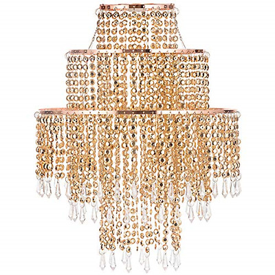 £35.89 • Buy Waneway Chandelier Light Shade For Ceiling Pendant Light, Easy Fit Crystal Lamp