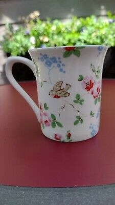 £2.99 • Buy Excellent Cath Kidston By Churchill Mug Fine China Birds Floral