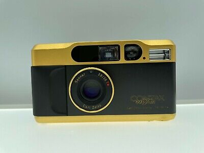 $ CDN1820.61 • Buy ***Opt Mint*** Contax T2 60 Years Gold Point & Shoot Film Camera From Japan