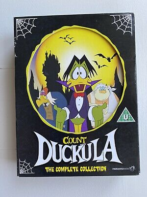 £34.99 • Buy Count Duckula Dvd Complete Collection (minus 1 Disc Arghh) Paper Cover