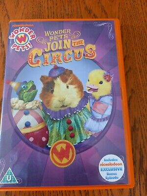 £11.39 • Buy Wonder Pets Join The Circus Dvd Kids 4 Episodes