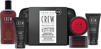 £20 • Buy American Crew Limited Edition Gift Set Essential Grooming Kit 5pc