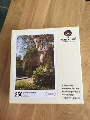 £10 • Buy Wentworth Jigsaw 250 Pieces Complete The Northern Summerhouse, The Lost Garden