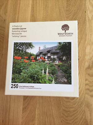 £10 • Buy Wentworth Jigsaw 250 Pieces Complete Anne Hathaway's Cottage