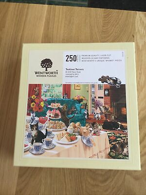 £10 • Buy Wentworth Jigsaw 250 Pieces Complete Teatime Terrors