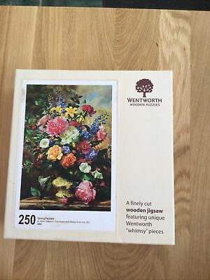 £10 • Buy Wentworth Jigsaw 250 Pieces Complete Spring Fantasy