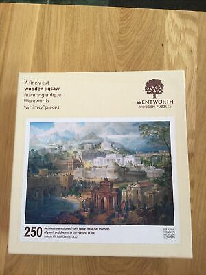 £10 • Buy Wentworth Jigsaw 250 Pieces Complete Architectural Visions Of Early Fancy In The