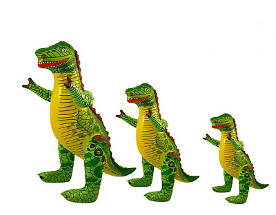 £4.99 • Buy INFLATABLE DINOSAUR Blow Up T-Rex Toy Dino Fancy Hen Party Decor Kids Animal