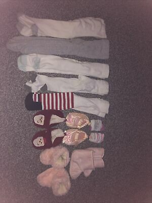 £0.99 • Buy 3-6 Months,Shoe,Sock And Tights Bundle