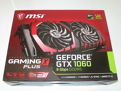 AU40.07 • Buy Box MSI GTX 1060 Gaming X 6GB For Collection Or Resale Purpose