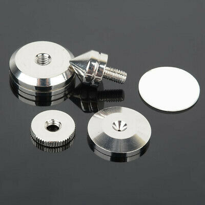 £5.94 • Buy Speaker Spike Base Pad Amplifier Isolation Cone Stand Feet Stainless Steel 1 Set