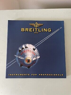 £10.97 • Buy Breitling Chronolog 2000 Watch Catalog 167 PAGES  Instruments For Professional