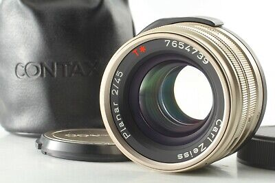 $ CDN629.41 • Buy [TOP MINT In Case] Contax Carl Zeiss Planar T* 45mm F/2 AF Lens For G1 G2 Japan