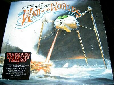 £3.99 • Buy The War Of The Worlds 2x CD Collector's Edition Outer Cardboard Sleeve Missing