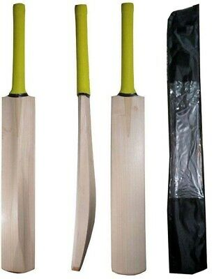 £34.90 • Buy English Willow Cricket Bat Custom Made Full Size Bat W/ Fitted Toe Guard + Cover