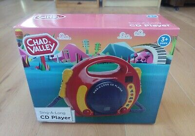 £4.99 • Buy Children's CD Player, With Microphone For Karaoke (Chad Valley)
