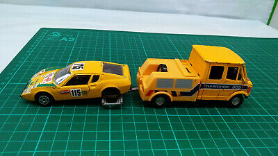 £16.99 • Buy Norev Ligier JS2 Jet Car Toy Hongwell Mercedes Benz T1 Recovery Tow Truck Set
