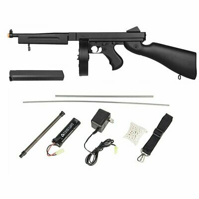 $87.95 • Buy Well D98 M1A1 WWII Submachine AEG Electric Airsoft Rifle Gun + Battery + Charger