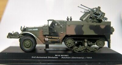 $24.95 • Buy M16 MGMC Half-track 1/72? Plastic Model Assembled In Display Case