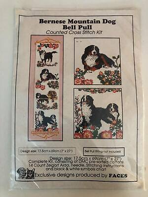 £20.50 • Buy Bernese Mountain Dog Bell Pull Counted Cross Stitch Kit NEW #0247