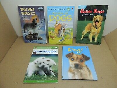 £3.50 • Buy 5 Childrens Books Nonfiction Dogs Wolves Read With Usborne Penguin Young Readers