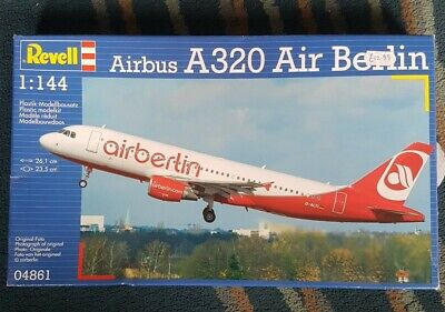 £9.50 • Buy Revell 1:144 Scale Model Kit, Airbus A320 Air Berlin 04861 Airplane