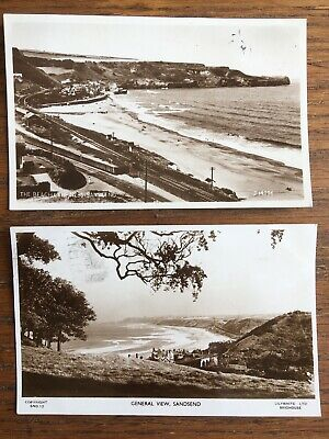 £3.95 • Buy SANDSEND, NORTH YORKSHIRE: Two 1953 REAL PHOTO Post Cards LONG LIVE THE QUEEN