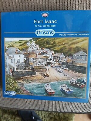 £1.30 • Buy Port Isaac Jigsaw(terry Harrison)Gibsons 500 Pieces