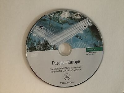£2.55 • Buy Mercedes-Benz Comand APS System Europa-DVD (2004)